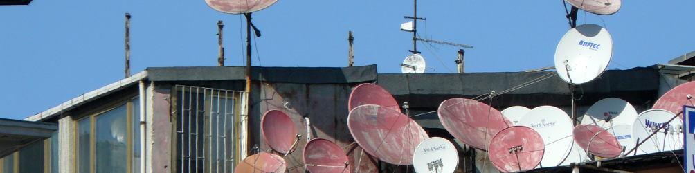 Auf einem Dach in Istanbul. Foto: Kornelia Kellner
