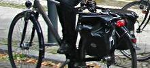 Fahrrad mit Satteltasche