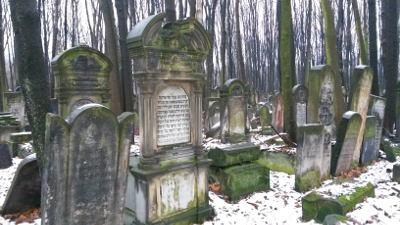 Auf dem jüdischen Friedhof Warschau. Foto: Sybille Heeg