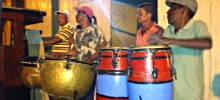 Kubanische Perkussionisten. Foto: Anke Biedenkapp