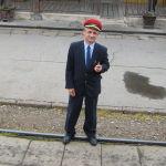 Am Bahnhof von Vrbas. Foto: Ute Biedermann