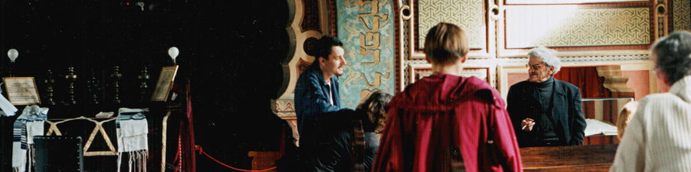 In der Synagoge von Sarajevo. Foto: Paul Gronert