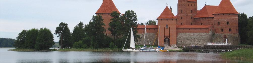 Wasserburg Trakai. Foto: Annekathrin Rauschenbach
