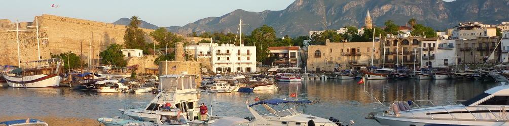 Hafen von Girne/Kyrenia, Nord-Zypern. Foto: Alexandra Gründel