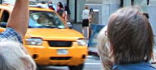 Taxi in New York. Foto: Paul Gronert