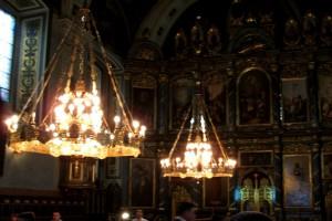 In einer Kirche in Belgrad. Foto: Paul Gronert