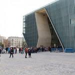 Jüdisches historisches Museum Warschau, Frühling 2013. Foto: Wistula