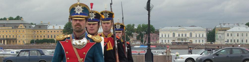 Parade in St. Petersburg. Foto: Sigrid Harms