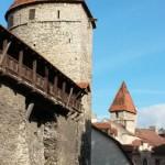 Alte Stadtmauer von Tallinn. Foto: Sybille Heeg