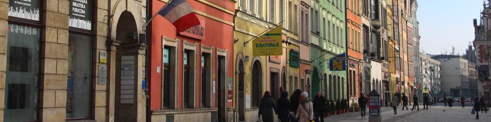 In der Altstadt von Breslau/Wrocław. Foto: Konny Kellner