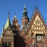 Rathaus von Breslau. Foto: Konny Kellner