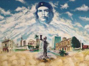 Wandbild auf Kuba. Foto; Anke Biedenkapp