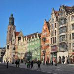 Restaurierte Altstadtfassaden in Breslau/Wrocław. Foto: Konny Kellner
