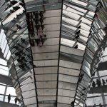 Spiegeltrichter in der Reichstagskuppel