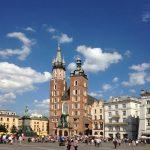 Krakau: Marienkirche auf dem Marktplatz. Foto: Susanne Hoppe