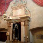 Krakau: In der Synagoge. Foto: Susanne Hoppe
