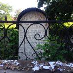 Krakau: Grab auf dem jüdischen Friedhof. Foto: Susanne Hoppe