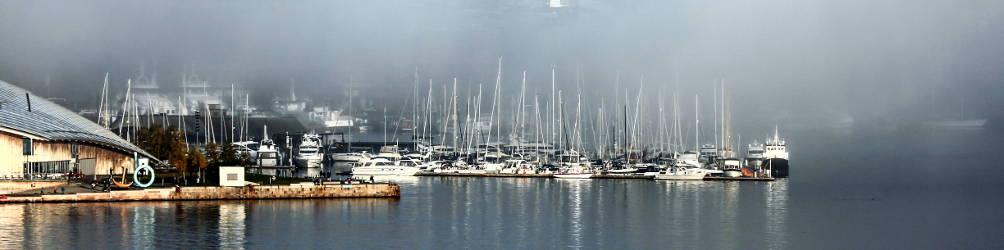 Blick auf den Hafen von Oslo. Foto: Konny Kellner